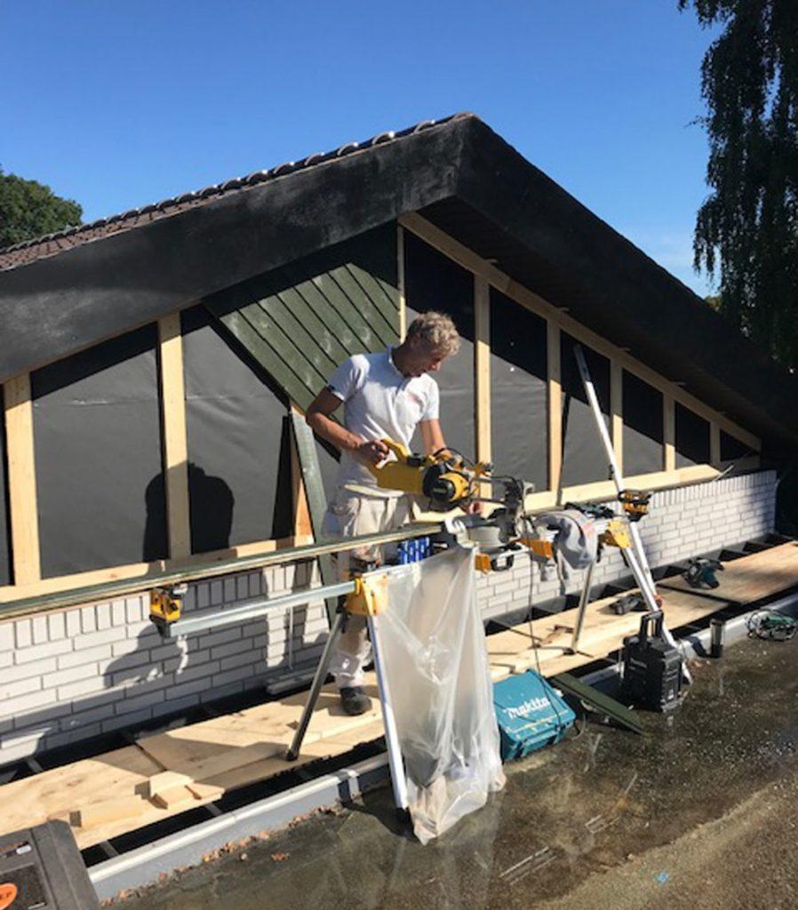 Renovering af facade
